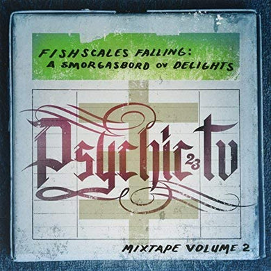 PSYCHIC TV Fishscales Falling - A Smorgasbord Of Delights - LP blue/green vinyl