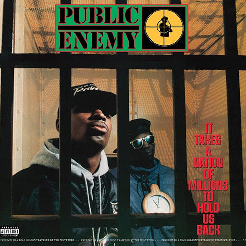 PUBLIC ENEMY It Takes A Nation Of Millions To Hold Us Back LP