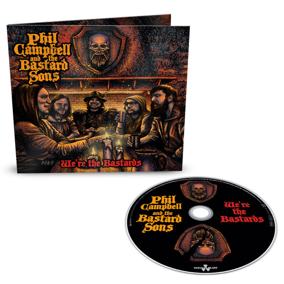 PHIL CAMPBELL & THE BASTARD SONS  We're the Bastards CD Limited Deluxe with Bonus Tracks