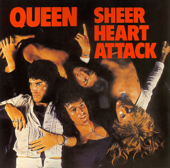 QUEEN Sheer Heart Attack LP