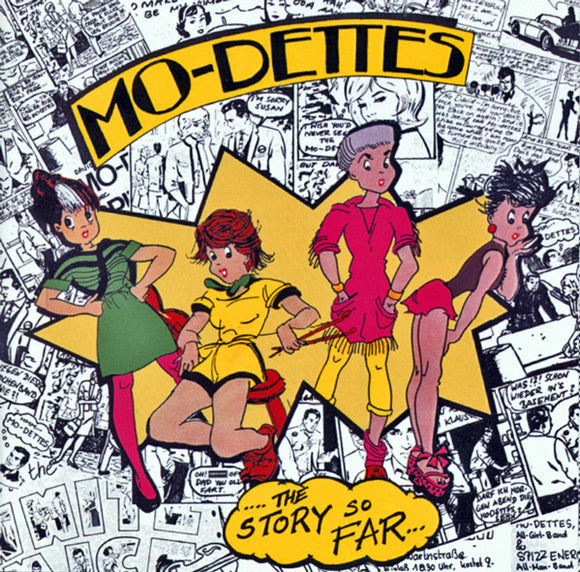 THE MO-DETTES The Story So Far LP