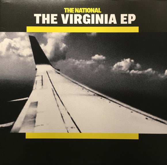 THE NATIONAL The Virginia EP LIMITED Yellow with Black Splatter Vinyl