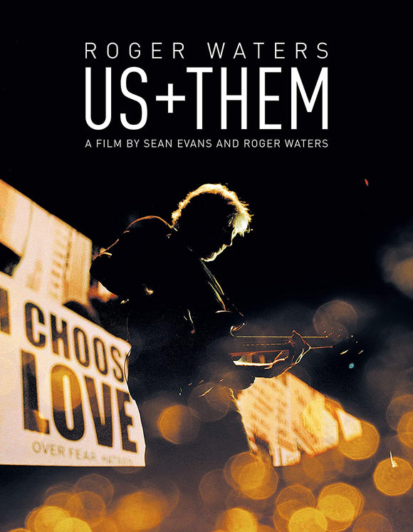 ROGER WATERS Us + Them BLU RAY