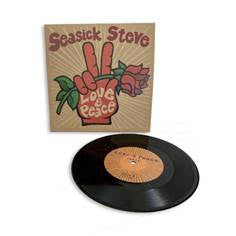 "SEASICK STEVE Love & Peace 7"" INDIE EXCLUSIVE"