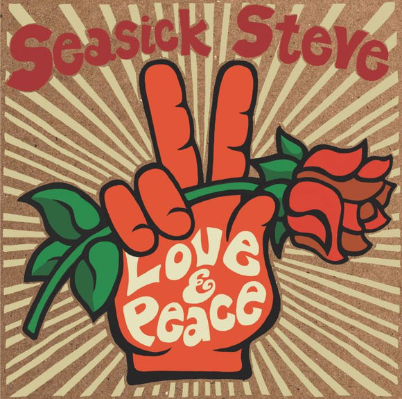 SEASICK STEVE Love & Peace LP CLEAR VINYL INDIE EXCLUSIVE