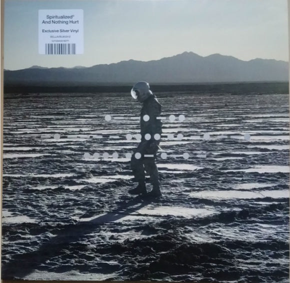 SPIRITUALIZED And Nothing Hurt LP SILVER VINYL