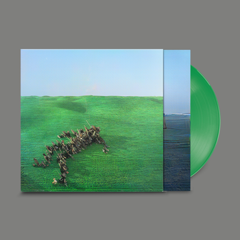 SQUID Bright Green Field 2LP SET Green Vinyl Indie Exclusive
