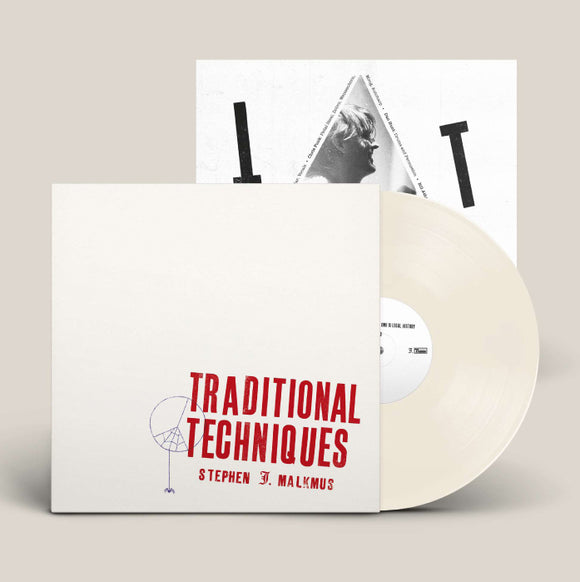 STEPHEN MALKMUS Traditional Techniques 140g Creamy White vinyl
