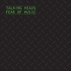 TALKING HEADS Fear of Music LP opaque silver/grey vinyl