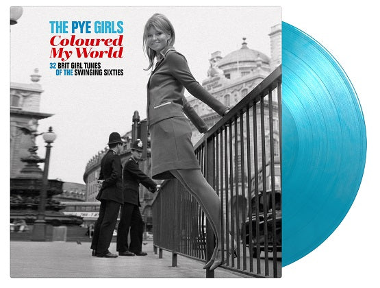 VARIOUS ARTISTS The PYE Girls Coloured My World; (32 Brit Girl Tunes Of The Swinging Sixties) 2LP Transparent Blue Vinyl Numbered + poster