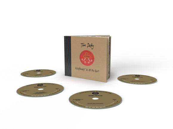 TOM PETTY Wildflowers & All The Rest 4CD BOX SET