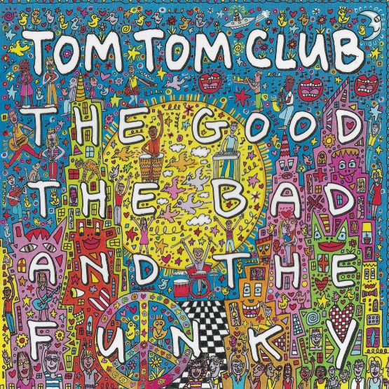 TOM TOM CLUB The Good The Bad and The Funky LP Aqua Marble Vinyl RSD DROP 1