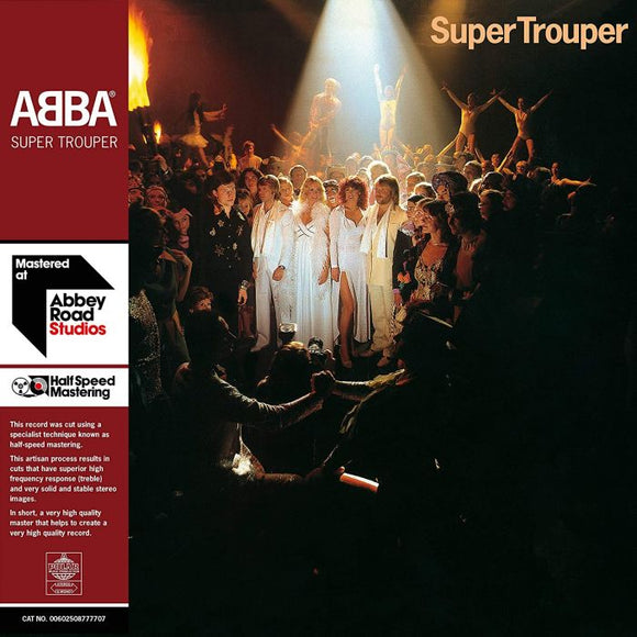 ABBA Super Trouper [40th Anniversary] Half Speed Master  2LP SET