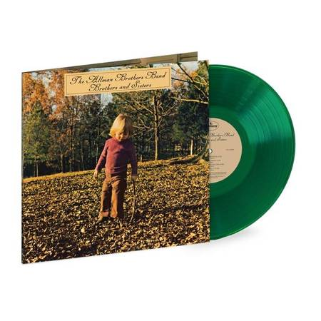 ALLMAN BROTHERS BAND Brothers And Sisters LP Translucent Green Vinyl