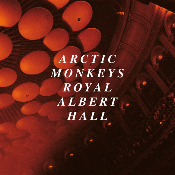 ARCTIC MONKEYS Live At The Royal Albert Hall 2LP LIMITED CLEAR VINYL