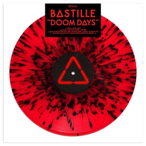 BASTILLE Doom Days LP Red/Black Splatter Vinyl