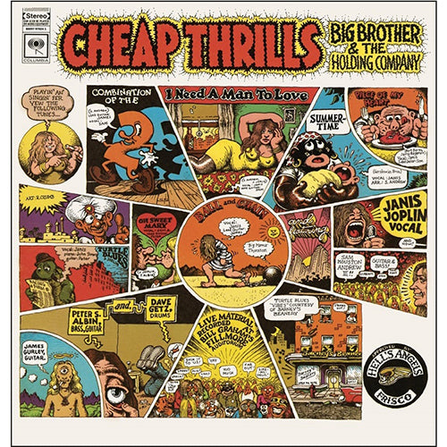 JANIS JOPLIN with BIG BROTHER & THE HOLDING COMPANY Cheap Thrills LP