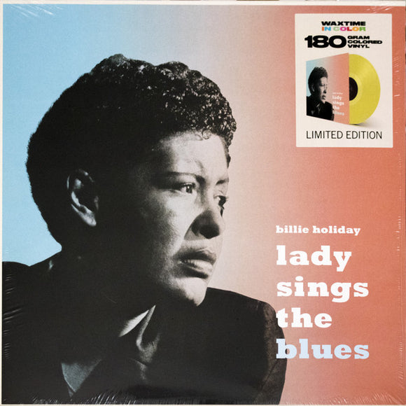 BILLIE HOLIDAY Lady Sings The Blues LP YELLOW VINYL