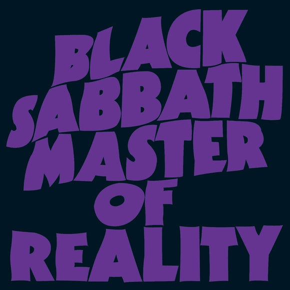 BLACK SABBATH Masters Of Reality 1LP