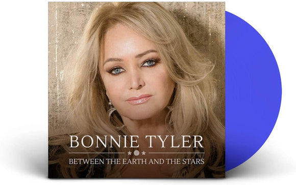 BONNIE TYLER Between The Earth & The Stars LP Blue Vinyl (NAD 20)