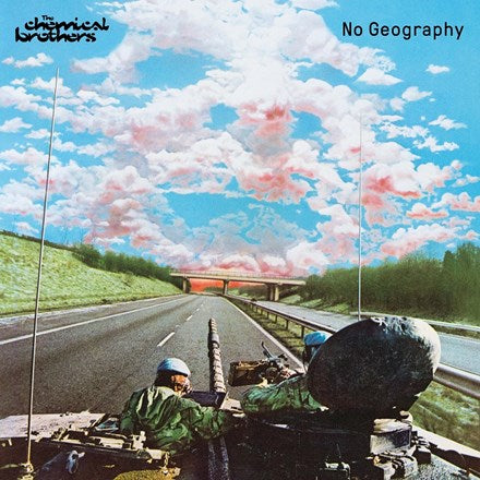 CHEMICAL BROTHERS No Geography LP SET