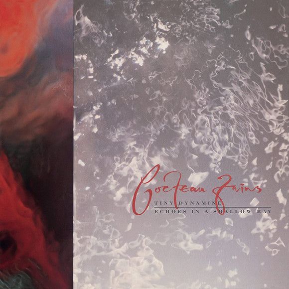 COCTEAU TWINS	Tiny Dinamine/ Echoes In A Shallow Bay LP