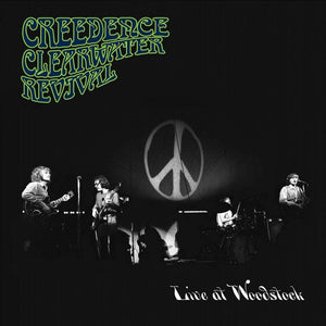 CREEDENCE CLEARWATER REVIVAL Live At Woodstock LP SET