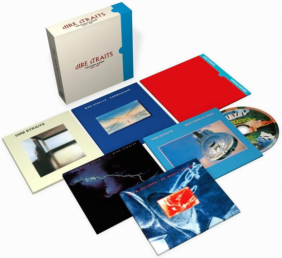 DIRE STRAITS The Studio Albums: 1978-1991 6CD Box Set (NAD 20)