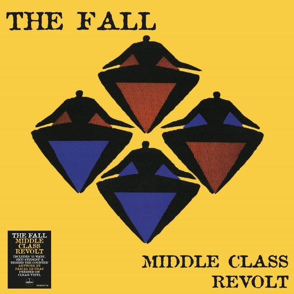 FALL Middle Class Revolt LP (140g Clear Vinyl)
