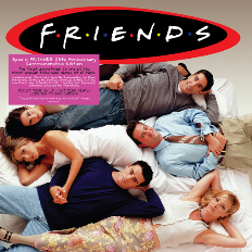 VARIOUS ARTISTS Friends Original Soundtrack  2LP Hot Pink Vinyl (NAD20)