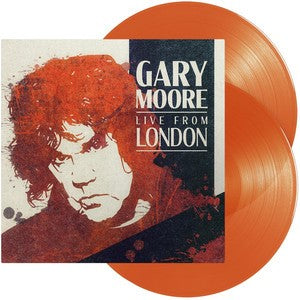 GARY MOORE Live From London  2LP SET Orange Vinyl