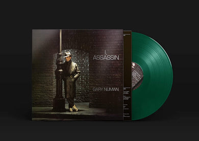GARY NUMAN I Assassin LP GREEN VINYL