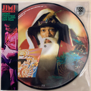 "JIMI HENDRIX Merry Christmas And Happy New Year 12"" PIC DISC"