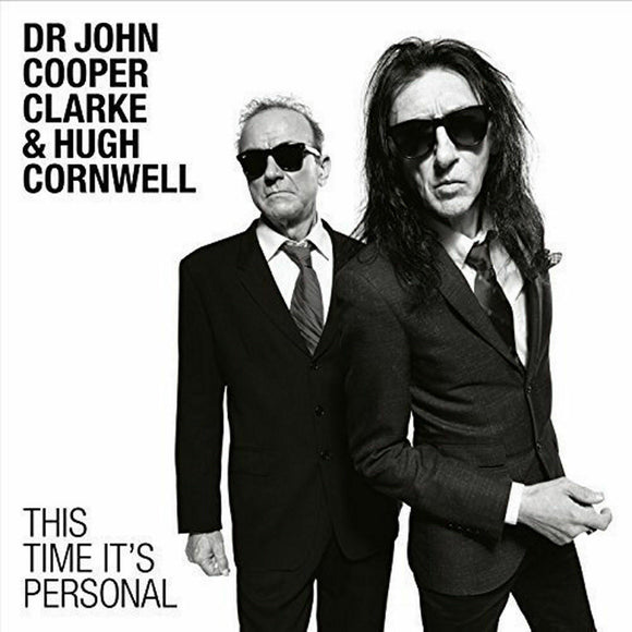 JOHN COOPER CLARKE & HUGH CORNWELL This Time It's Personal LP