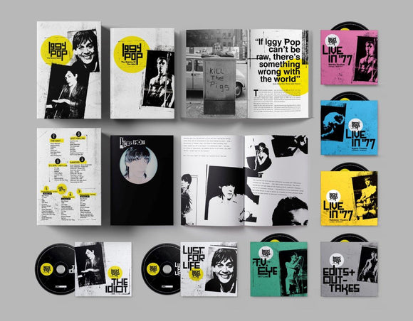 IGGY POP / 1977 The Bowie Years 7CD Boxset