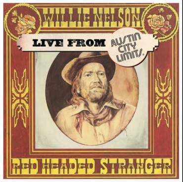 WILLIE NELSON Live At Austin City Limits 1976 LP