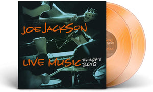 JOE JACKSON live Music - Europe 2010 2LP Orange Vinyl (NAD 20)