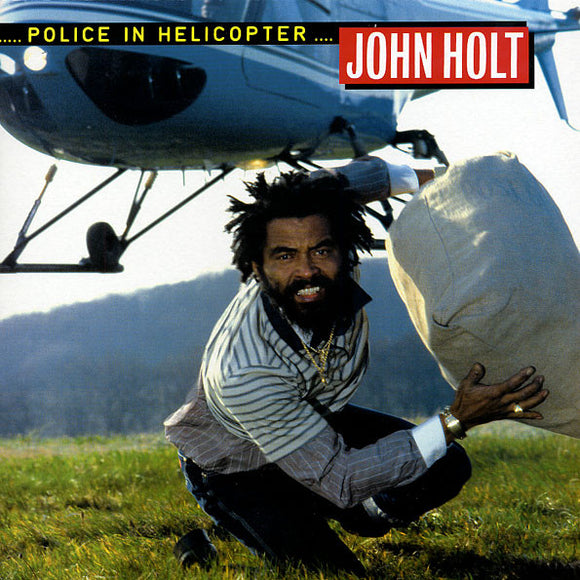 JOHN HOLT Police In Helicopter LP