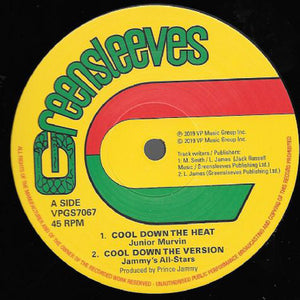 JUNIOR MURVIN Cool Down The Heat 12""