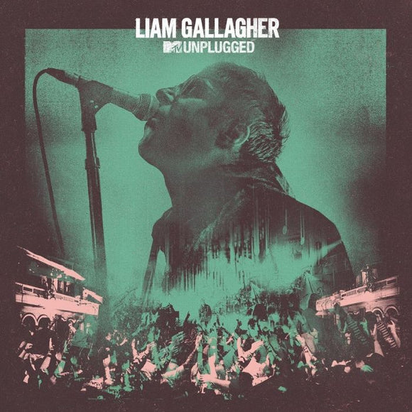 LIAM GALLAGHER MTV Unplugged (Live At Hull City Hall) LP EXCLUSIVE SPLATTER VINYL