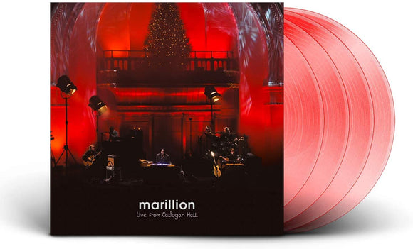 MARILLION Live From Cadogan Hall 4LP SET Red Vinyl (NAD 20)