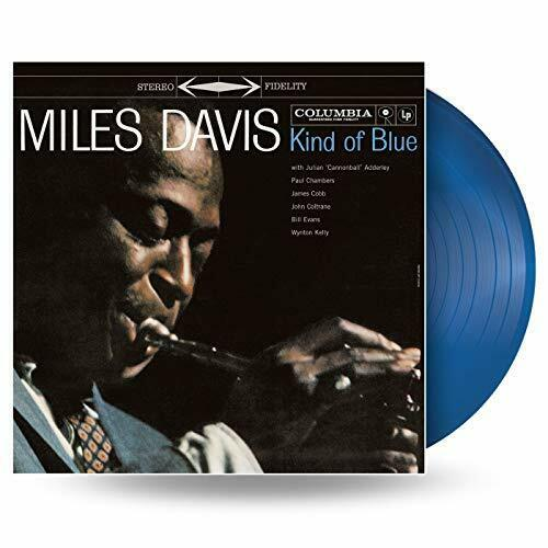 MILES DAVIS Kind of Blue LP Blue Vinyl