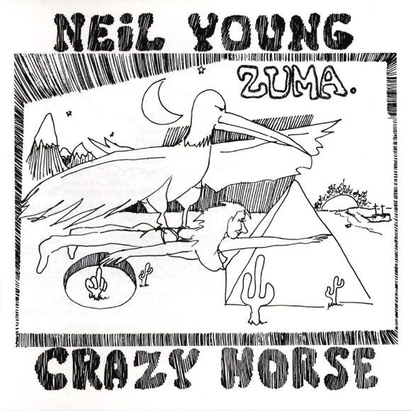 NEIL YOUNG & CRAZY HORSE Zuma LP