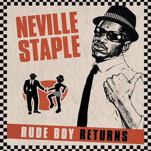 NEVILLE STAPLE Rude Boy Returns LP Orange Vinyl
