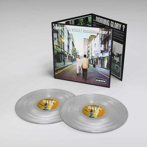 OASIS (What's The Story) Morning Glory? 2LP set 25th Anniversary Silver Vinyl