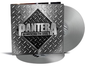 PANTERA Reinventing The Steel (20th Anniversary Edition) 2LP SET Silver Vinyl