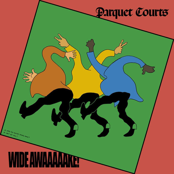 PARQUET COURTS Wide Awake! LP