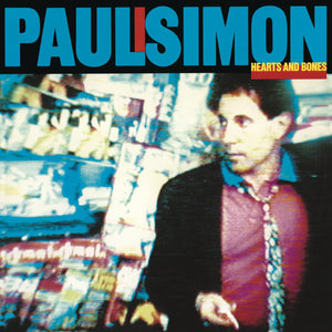 PAUL SIMON Hearts and Bones LP
