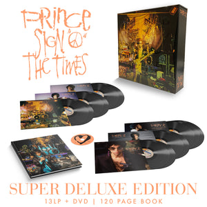 PRINCE Sign O' The Times Super Deluxe Edition – 13LP+DVD Box Set LIMITED