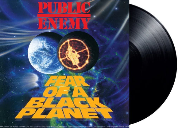 PUBLIC ENEMY Fear Of A Black Planet LP